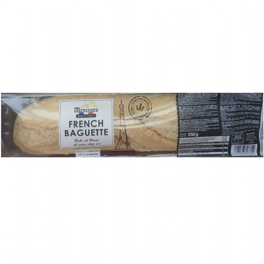 French Baguettes Bake At Home Bread Menissez 250g (Pack of 1)